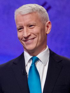 Anderson Cooper, 45  The CNN journalist, who announced publicly that he's gay today, is rumored to have Latino ancestry in his family. The Emmy-winning TV personality's great-great-grandmother Luisa Fernández de Valdivieso settled in Chile in the 17th century. That's way back in the day, but we will take it!