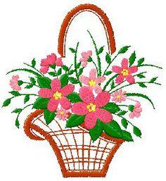 4X4 Flowers Basket Design 030 Nanees