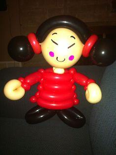 Balloon doll