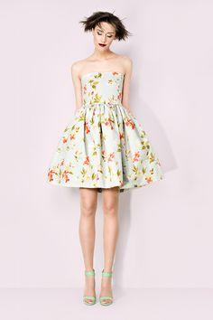 Sukienka gorsetowa w kwiaty w Kasia Miciak design na DaWanda.com