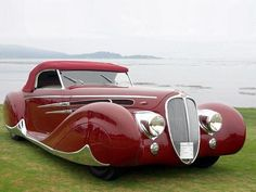 Top up on the Delahaye V-12 .  It was originally developed for racing as the Type 145.  petersen.org