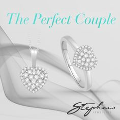 You know that you and your loved one are a perfect couple. Why not show her by giving her this matching pretty heart necklace and ring together. Come in store or shop these styles online at http://www.stephensjewellers.com.au/brand/stephens?category=&stone_type=&metal_type=&search_query=&gender=&promotion= #Stephensjewellers #Jewellery #Gold #Rings #Aquamarine http://www.stephensjewellers.com.au/