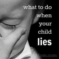 Are you wondering what to do when your child lies? Your response is more important than you might think. Notice I didn't say IF your child lies. I said WHEN. Because it will happen. Every kid lies from time to time. But that doesn't make it right. As often as I have the opportunity, I …