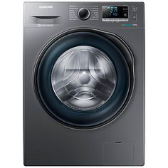 Buy Samsung WW90J6410CX ecobubble Freestanding Washing Machine, 9kg Load, A+++ Energy Rating, 1400rpm Spin, Graphite Online at johnlewis.com