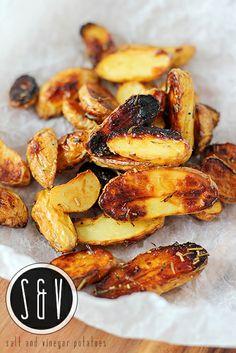 salt & vinegar Potatoes