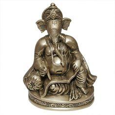 Ganesha Metal Sculptures Brass Figurines ShalinIndia http://www.amazon.in/dp/B002R07GGM/ref=cm_sw_r_pi_dp_juwaub15RCZ9T