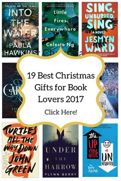 19 Best Christmas Gifts For Book Lovers 2017
