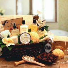 A gift hamper would make me squeal like a little girl!