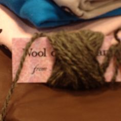 I figured out today my new product tags can also serve to make a ball of yarn from a skein. Pretty cool!