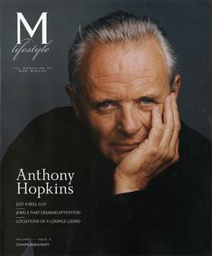 Anthony Hopkins cover photo by Annie Leibovitz.... www.fashion.net