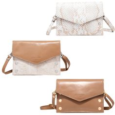 """In need of a neutral clutch? Hammitt has you covered. The """"Tony"""" bag is ideal for any night out, plus it has a detatchable strap to convert easily to a crossbody. #hammitt #bag #purse #clutch #accessory #accessories #accessorize #leather #luxury #organize #neutral #musthave #willow #willowboulder #willowmusthave"""