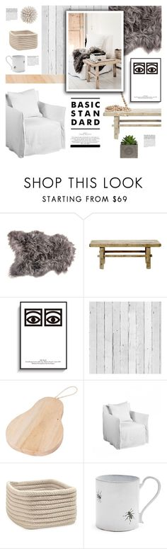 """""""nordic lounge"""" by jesuisunlapin ❤ liked on Polyvore featuring interior, interiors, interior design, home, home decor, interior decorating, Bloomingville, Piet Hein Eek, Kori and Chloé"""