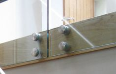 Face fixing round glass clamping bolts