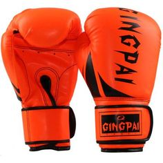 Cheap kickboxing gloves, Buy Quality boxing gloves directly from China mma kickboxing gloves Suppliers: Orang black Boxing glove Male Female MMA kickBoxing Glove Fighting Punching Sandbag Training glove sports equipment Mma Gloves, Boxing Gloves, Leather Gloves, Pu Leather, Martial Arts Equipment, Sports Equipment, Muay Thai Gloves, Taekwondo Training, Mixed Martial Arts