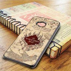 Harry Potter Marauders Map HTC One M7 Case