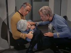 """He's dead, Jim...""   Dr. McCoy saying his ever famous line!"