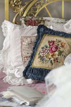 Vintage french linens                                                                                                                                                                                 More