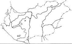 """Képtalálat a következőre: """"magyarország tájai vaktérkép"""" Page Borders Free, Ahsoka Tano, Map, World, Location Map, Maps, The World"""