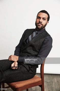 O.T. Fagbenle from Hulu's 'The Handmaid's Tale' poses in the Getty Images Portrait Studio at the 2017 Winter Television Critics Association press tour at the Langham Hotel on January 7, 2017 in Pasadena, California.