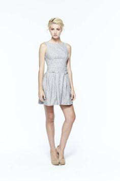 paper crown: grain dress