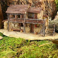Top Collection Miniature Fairy Garden and Terrarium Statue, Fairy Villa House