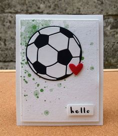 Card soccer cards, soccer gifts, football cards, birthday cards for boys, b Birthday Cards For Boys, Bday Cards, Birthday Gifts For Boyfriend, Boyfriend Gifts, Birthday Ideas, Soccer Cards, Soccer Gifts, Football Cards, Diy Gifts For Men