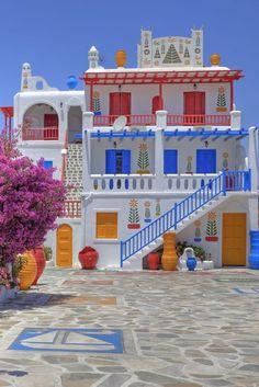 Mykonos, Greece - HouseBeautiful.com
