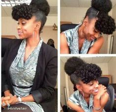 Lovely updo...i want to try these faux bangs
