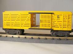 Lionel #6656 Post War1952/53 Stock Car Dark Yellow No Box C-7  #PostwarLIONEL