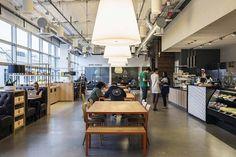 Desain Interior Kantor Pusat Dropbox di San Francisco