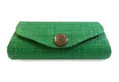 Green, Small Purse, Clutch, Sunglasses Case, Sunglasses, Fair Trade, Artisan…