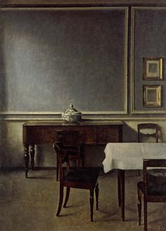 The Banality of Everyday Life: Domestic Interiors painted by ...