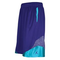 Jordan Son Of Mars Elephant Short - Mens - Basketball - Clothing - Grape Ice/New Emerald/Grape Ice