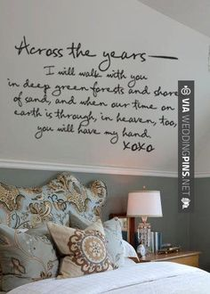 Neato - Across the years romantic vinyl wall decal art by GrabersGraphics - SO…