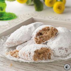 Cake Mix Cookie Recipes, Best Cookie Recipes, Dessert Recipes, Greek Cake, Eat Greek, Greek Sweets, Greek Desserts, Greek Cookies, Almond Cookies