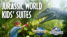 Jurassic World Kids' Suites are an amazing option for your next family vacation! A great hotel option to keep keep everyone happy at Loews Royal Pacific Resort. Universal Orlando Vacations, Universal Studios Florida, New Jurassic World, Indominus Rex, Bathroom Inspo, Family Vacations, Places Around The World, Beach Resorts, Dinosaurs