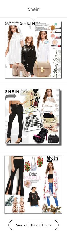 """Shein"" by ajisa-ikanovic ❤ liked on Polyvore featuring Fountain, Wall Pops!, Yoco Nagamiya and Vie Active"