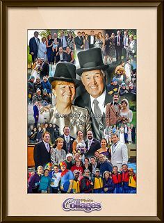 retirement gift idea for coworker picture collage samples designed