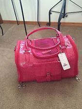 Pink Dog Carrier Purse With Clutch  76a3f94e3f