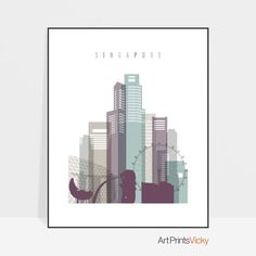 World Map Poster, All Poster, Poster Wall, Posters, Poster Prints, Tokyo Skyline, Skyline Art, Canvas Wall Art, Wall Art Prints