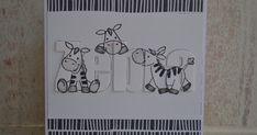 Wat leuk dat jullie me blog willen volgen, Ingrid, Annemarie en Janneke:) Vandaag met de zebra stempels aan de slag gegaan. Gebruik...