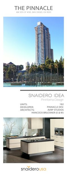 Snaidero USA Multi-housing kitchen and living space installation project in San Diego, California #SnaideroUSA