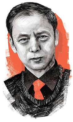 Over a buffet lunch in Beijing, the Chinese law professor and novelist talks about his 'nice dream' for communism, tackling corruption — and how he won over his wife's family. FT illustration of He Jiahong by Luke Waller