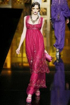 Christian Doir-love the colour and the 20s inspiration