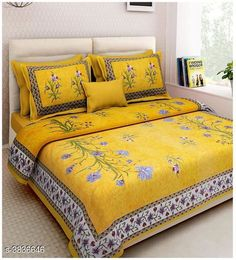 Bedsheets Siya Designer 100% Cotton Printed Double Bedsheets Siya Designer 100% Cotton Printed Double Bedsheets Country of Origin: India Sizes Available: Queen, King   Catalog Rating: ★4.1 (1012)  Catalog Name: New Siya Designer 100% Cotton Printed Double Bedsheets Vol 15 CatalogID_538724 C53-SC1101 Code: 343-3836646-267
