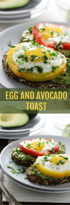 cool Egg Avocado Toast | MariaUshakova.com