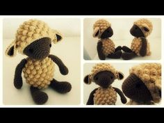 Häkelschaf Teil * Tutorial * Crochet Sheep [eng sub] - Finally something I can understand and crochet along to Crochet Sheep, Crochet Egg Cozy, Crochet Hedgehog, Crochet Diy, Crochet Stars, Crochet Amigurumi, Easy Crochet Projects, Crochet Cross, Amigurumi Patterns