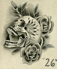 Another take on skulls for a tattoo