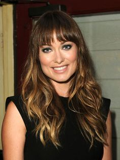 Olivia Wilde's Ombre, Bang Combo