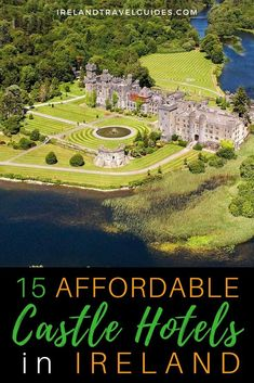 15 Affordable Castle Hotels In Ireland That Won't Break The Bank - Ireland Travel Guides 15 Affordable Castles Hotels In Ireland Ireland Travel Guide, Europe Travel Guide, Travel Guides, Travel Uk, Castle Hotels In Ireland, Castles In Ireland, Europe Destinations, Holiday Destinations, European Travel